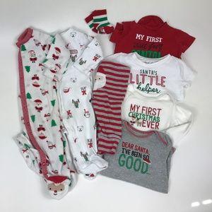 Carter's Matching Sets - Christmas 6m Lot
